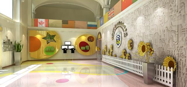 苏州湾外国语学校设计完成图片